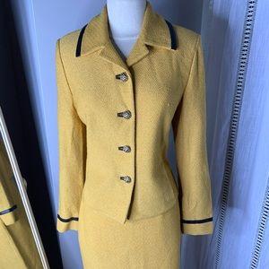 Authentic St John Knit Skirt Suit